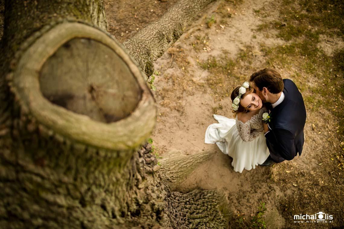 Sesja ślubna w Gołuchowie - plener w zamku